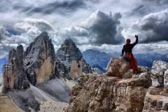 Tre Cime di Lavaredo z Monte Paterno