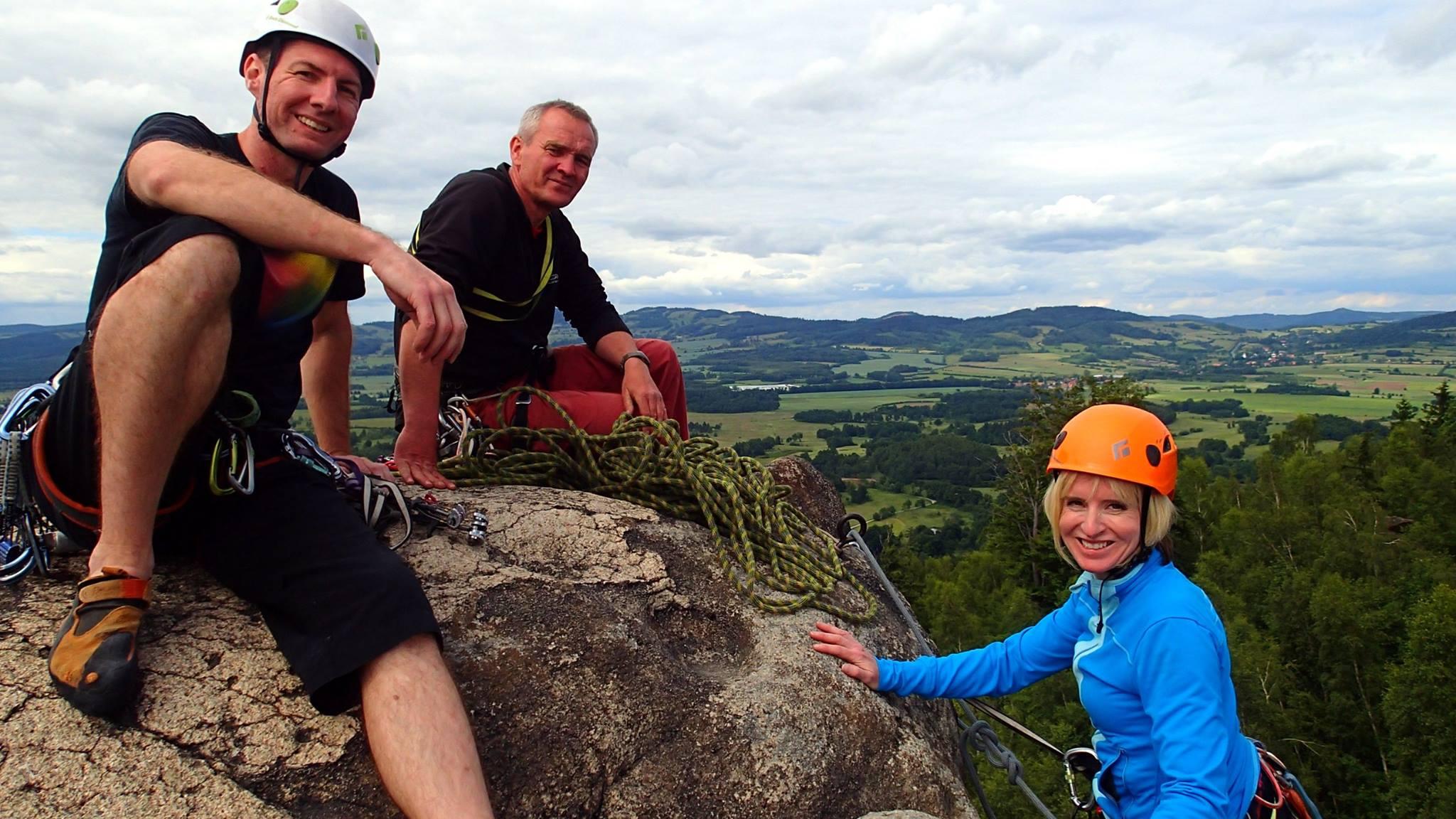 Wspinaczka na szczyty Sokolików