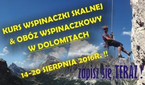 Kursy wspinaczkowe w Dolomitach włoskich