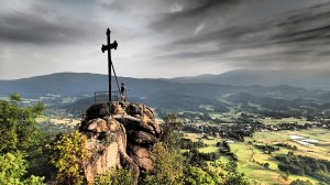 Krzyżna Skała w Sokolich Górach