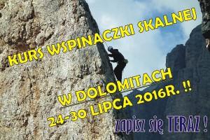 Kursy wspinaczkowe w Dolomitach