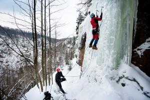Kurs wspinaczki w lodzie