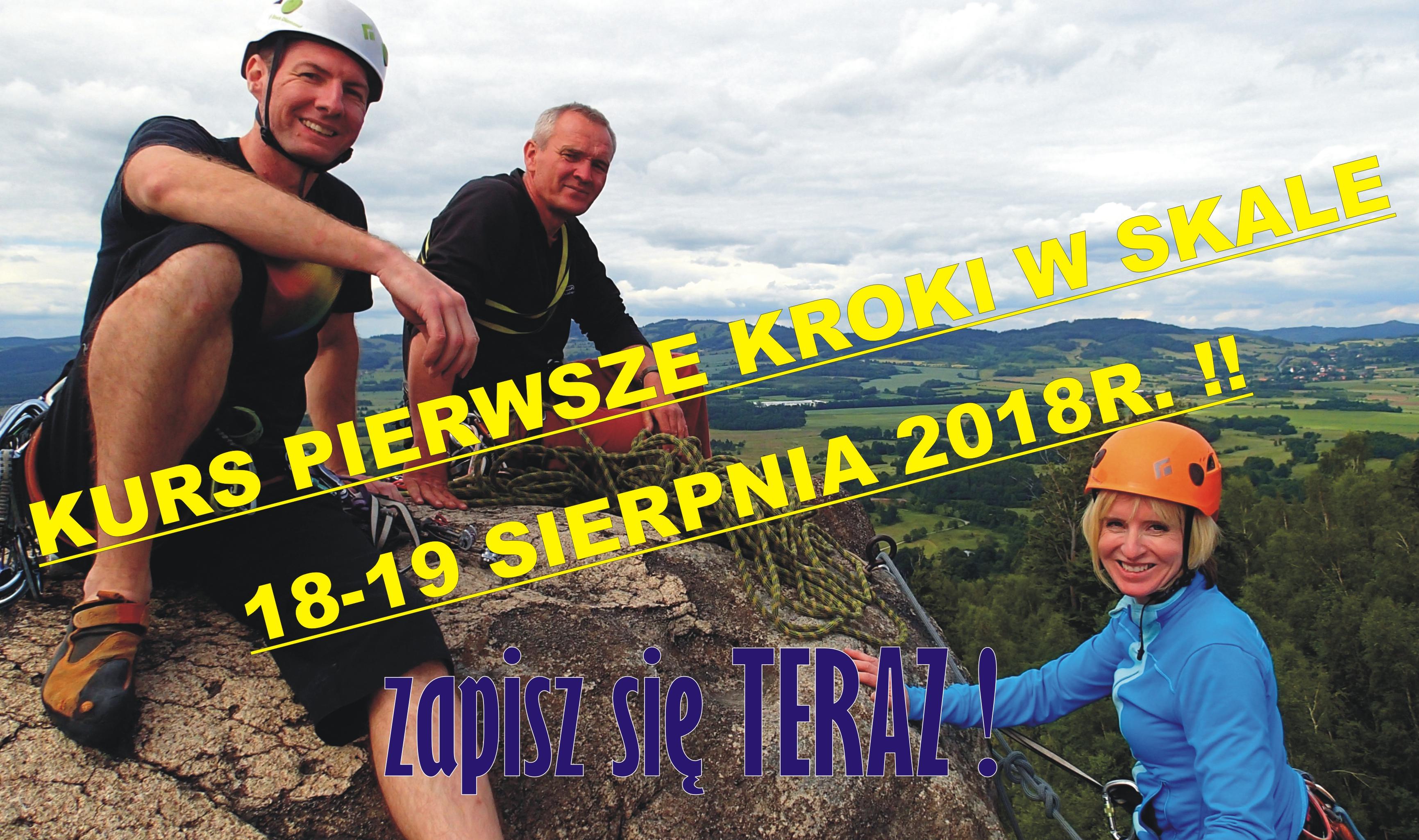 Kursy wspinaczkowe w Sokolikach
